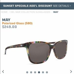 !!!Costa May sunglasses!!!